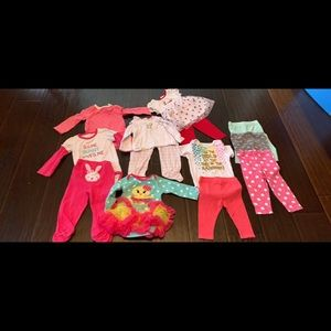 Other - Baby girl 6-9 Month Easter Clothes Lot